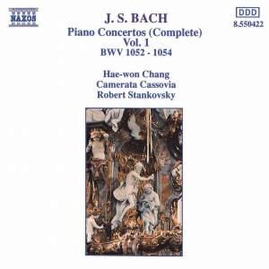J.S. Bach: Piano Concertos, Vol. 1 Product Image