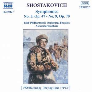 Shostakovich: Symphonies Nos. 5 and 9 Product Image