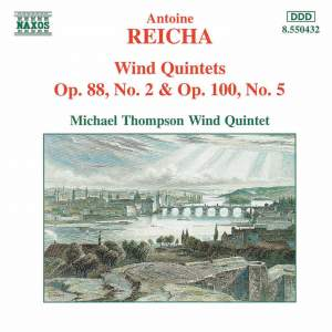 Reicha: Wind Quintets, Op. 88, No. 2 and Op. 100, No. 5 Product Image