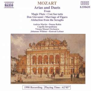 Mozart: Operatic Arias & Duets Product Image