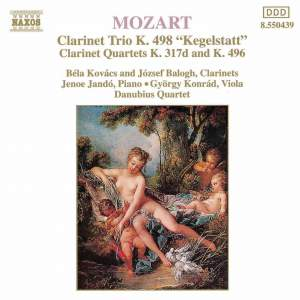 Mozart: Arrangements for Clarinet Trio Product Image