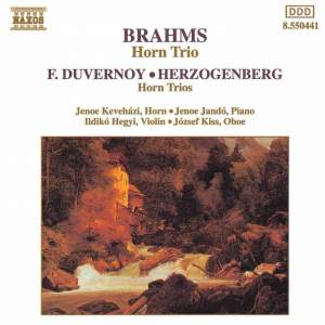Brahms: Horn Trio in E flat major, Op. 40, etc. Product Image