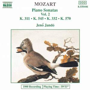 Mozart: Piano Sonatas, Vol. 2 Product Image