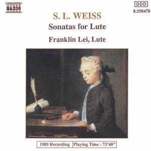Silvius Leopold Weiss: Lute Sonatas Nos. 12 and 39