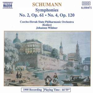 Schumann: Symphonies Nos. 2 and 4 Product Image