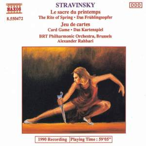 Stravinsky: The Rite of Spring & Jeu de cartes Product Image