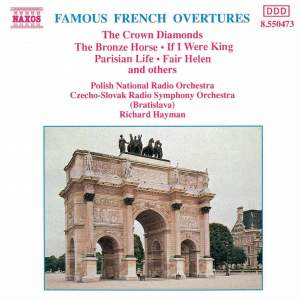 Famous French Overtures Product Image