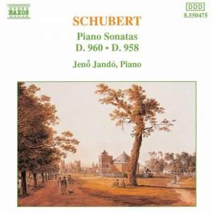 Schubert: Piano Sonatas Nos. 19 & 21 Product Image