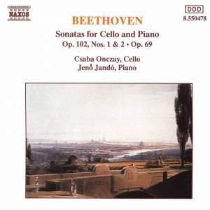 Beethoven: Cello Sonata No. 4 in C major, Op. 102 No. 1, etc. Product Image