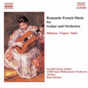 Romantic French Music for Guitar and Orchestra Product Image