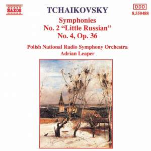 Tchaikovsky: Symphonies Nos. 2 & 4 Product Image