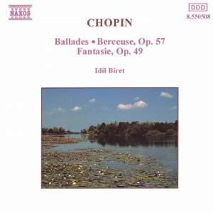 Chopin: Ballades, Berceuse Op. 57 & Fantasie Op. 49 Product Image
