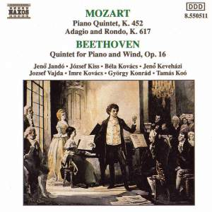 Mozart: Quintet for Piano and Winds in E flat, K452, etc. Product Image