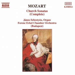Mozart: Church (Epistle) Sonatas for Organ & Strings Nos. 1-17 Product Image