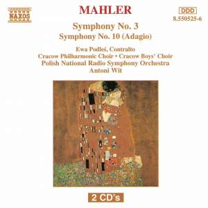 Mahler: Symphonies Nos. 3 & 10 Product Image
