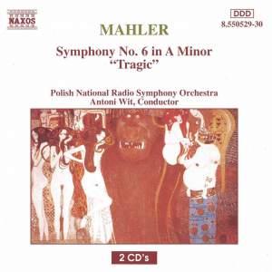 Mahler: Symphony No. 6 in A minor 'Tragic' Product Image