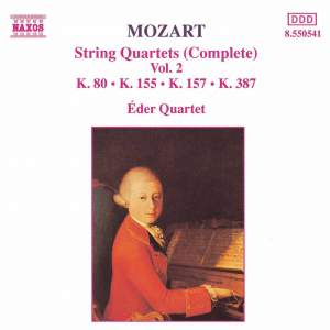 Mozart: String Quartets (Complete), Vol. 2 Product Image