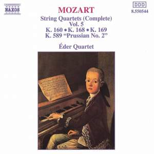 Mozart: String Quartets (Complete), Vol. 5 Product Image