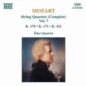 Mozart: String Quartets (Complete), Vol. 7 Product Image