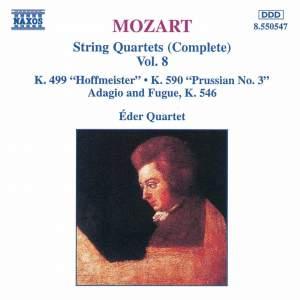 Mozart: String Quartets (Complete), Vol. 8 Product Image