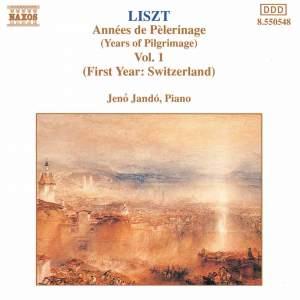 Liszt: Années de pèlerinage, 1ère année, Suisse (9 pieces), S. 160
