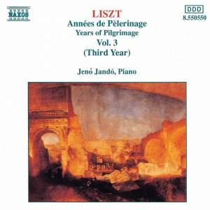 Liszt: Années de pèlerinage, 3ème année (7 pieces), S. 163