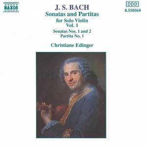 JS Bach: Violin Sonatas and Partitas, Vol. 1 Product Image