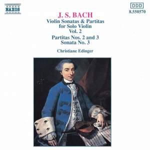 JS Bach: Violin Sonatas and Partitas, Vol. 2 Product Image