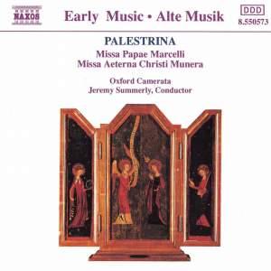 Palestrina: Missa Papae Marcelli & Missa aeterna Christi munera Product Image