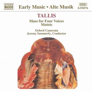 Tallis: Mass for Four Voices & Motets Product Image