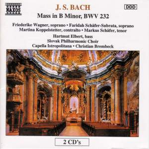 BACH, J.S.: Mass in B Minor, BWV 232 Product Image