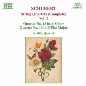 Schubert: String Quartets (Complete), Vol. 2 Product Image