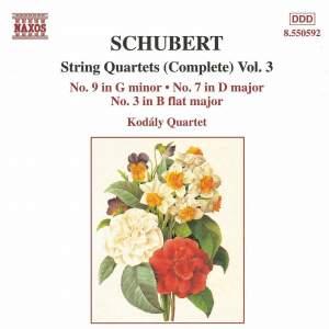 Schubert: String Quartets (Complete), Vol. 3 Product Image