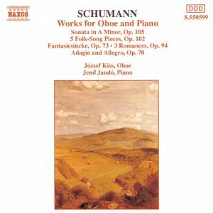 Schumann: Works For Oboe And Piano Product Image
