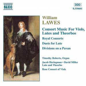 Lawes: Consort Music For Viols, Lutes And Theorbos Product Image