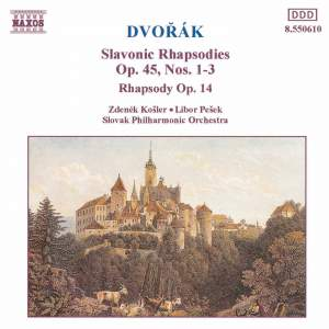 Dvorak: Rhapsody & Slavonic Rhapsodies Product Image
