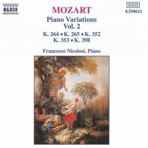 Mozart: Piano Variations, Vol. 2 Product Image