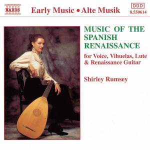 Music of the Spanish Renaissance Product Image