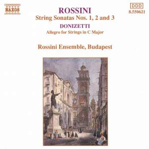 Rossini & Donizetti: Works for Strings