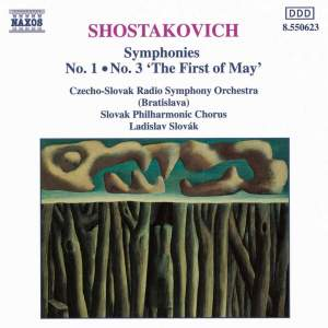 Shostakovich: Symphonies Nos. 1 & 3 Product Image