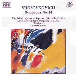 Shostakovich: Symphony No. 14 in G minor, Op. 135 Product Image