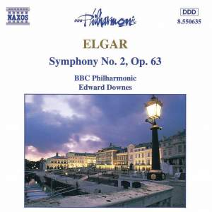 Elgar: Symphony No. 2 in E flat major, Op. 63 Product Image