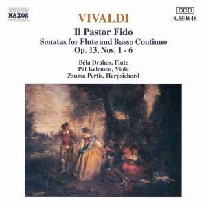 Vivaldi: Sonatas (6) for Flute & Continuo, Op. 13 'Il pastor fido' Product Image