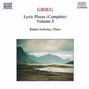 Grieg: Lyric Pieces Vol. 3 Product Image