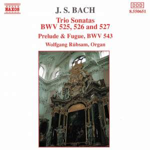 Bach: Trio Sonatas Nos. 1-3 & Prelude & Fugue in A minor Product Image