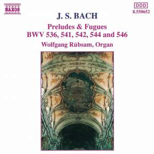 Bach: Preludes & Fugues Product Image