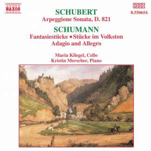 Schubert and Schumann: Cello works Product Image