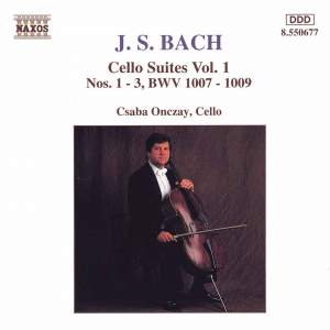 JS Bach: Cello Suites Nos. 1-3, BWV 1007-1009 Product Image