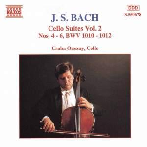 JS Bach.: Cello Suites Nos. 4-6 Product Image