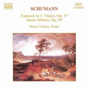 Schumann: Fantasie & Bunte Blätter